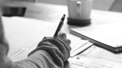صورة أريد أن أصبح كاتبا