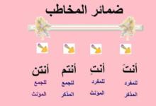 Photo of هندسة الضمائر الشخصية في العربية